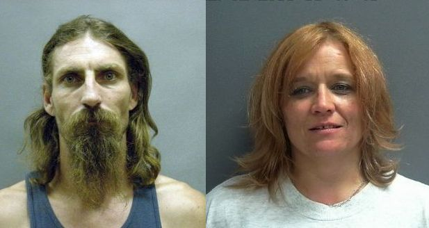 Courtesy/ Furnas County Sheriff's Office.  Donald Pulliam (l) and Kimberly Hupka.