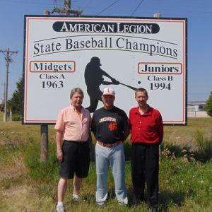 Lexington baseball celebrated