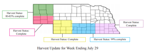Nebraska Wheat Crop Report - July 29