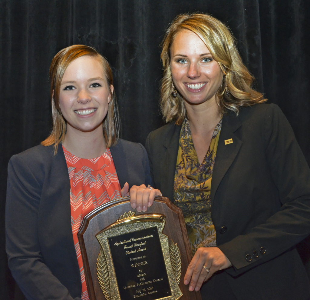 Kansas State University Student Awarded 2015 Forrest Bassford Award