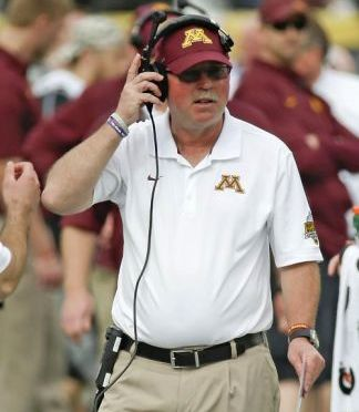 Minnesota Coach Jerry Kill AP Photo/John Raoux)