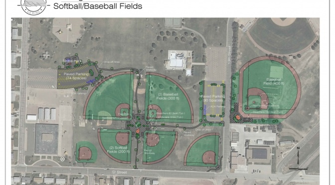 Site plan provided by Sergio Rodriguez, city of Gering