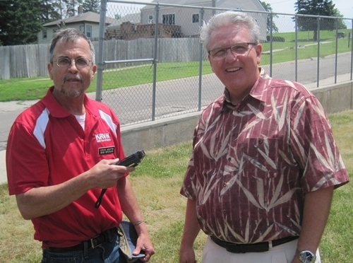 RRN/ Norfolk Senator Jim Scheer talks with KRVN's Bob Brogan