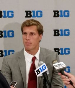 Wisconsin Quarterback Joel Stave. RRN Photo
