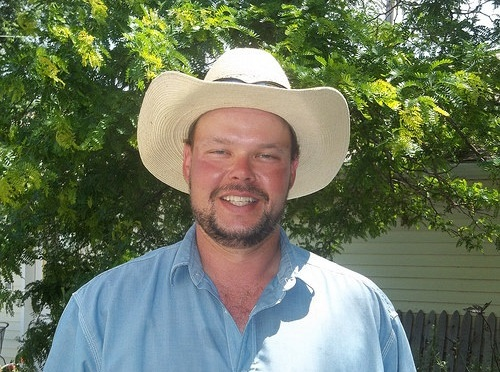 Wade Kloepping of Eustis has made several conservation improvements to his farm. - (Photo courtesy of USDA)
