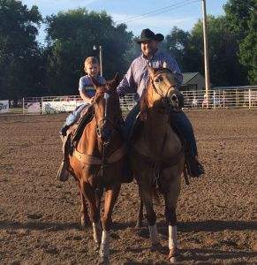 (AUDIO) Cowboys and cowgirls come to Hastings to compete