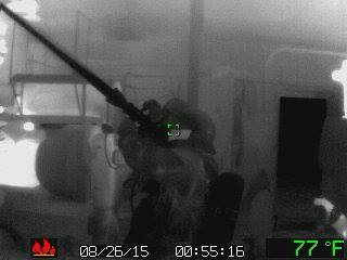 Courtesy/Cozad Fire and Rescue Facebook Page. Pictures taken with the Argus MiTic Thermal imaging camera.