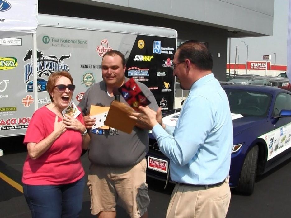gering woman winner of kneb s pony express summer On wright motors north platte