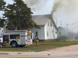 House fire in Lexington Sat., no injuries