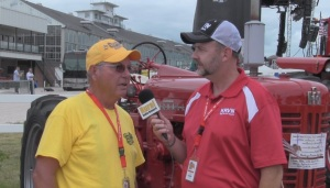 (Video) Antique Tractors a Crowd Pleaser at the Ne State Fair
