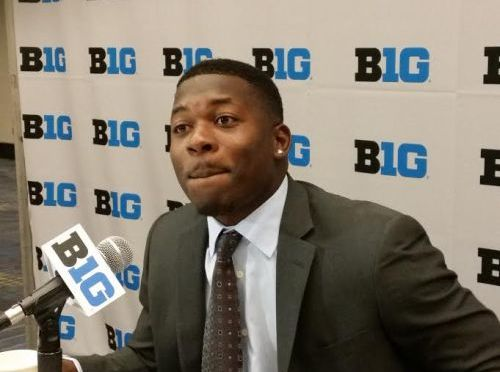 Tommy Armstrong at Big Ten Media Days, RRN Photo