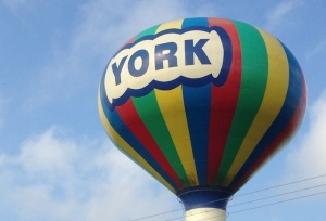Work Continues on York Water Towers