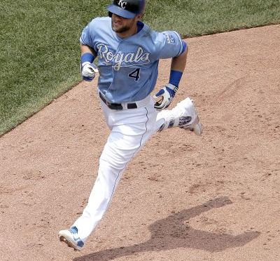 Alex Gordon, Photo Courtesy AP Images