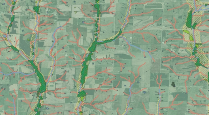 Example of Missouri tributary map. (Image courtesy of fb.org)
