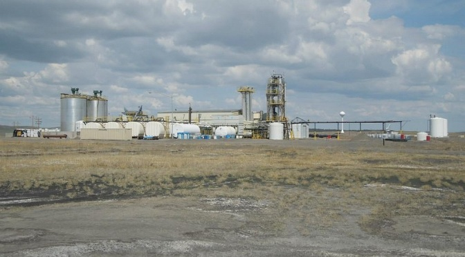 Western Ethanol, LLC at Upton, WY. Image courtesy of Great American Group
