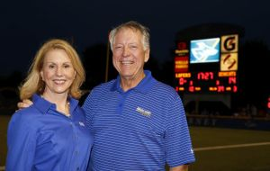 Hamiltons give $100K for UNK locker room project