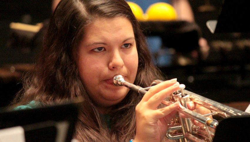 UNK trumpet player/Lexington native selected for 2015 National Intercollegiate Band