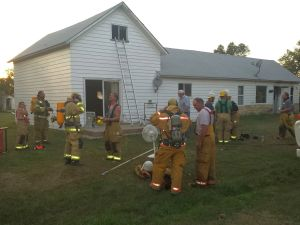 House fire quickly contained in Eddyville