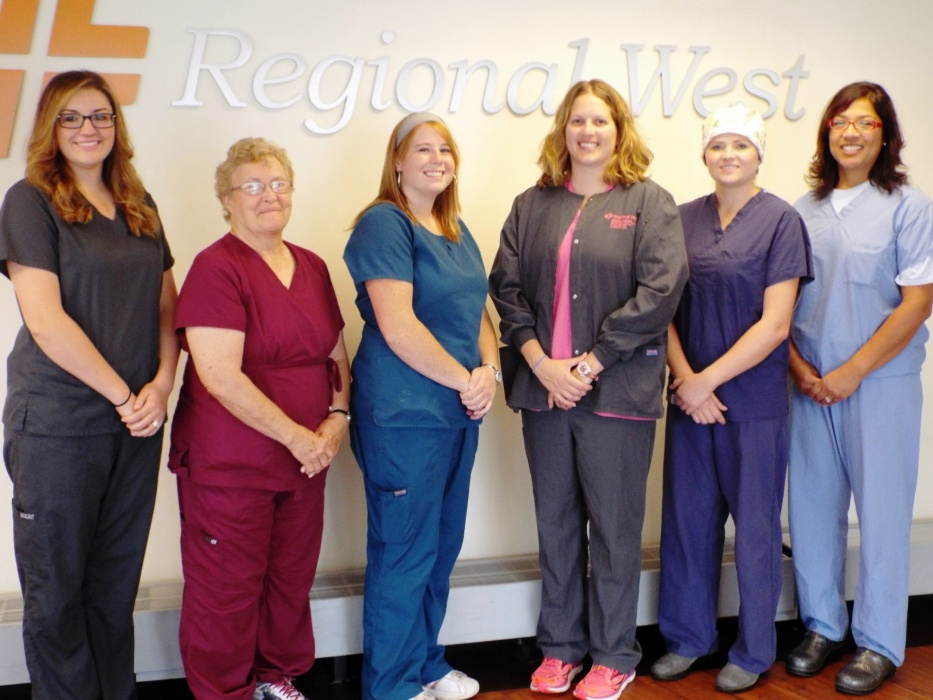 Regional West Caregivers Wearing Scrubs Of A Different