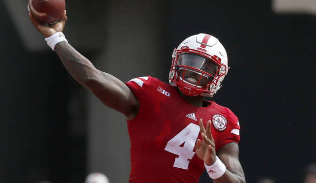 NU Quarterback Tommy Armstrong Courtesy/NU Media Relations.