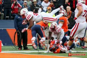Huskers Fall in Final Seconds at Illinois