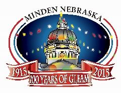 Courtesy/ Minden Chamber of Commerce.  100 years.