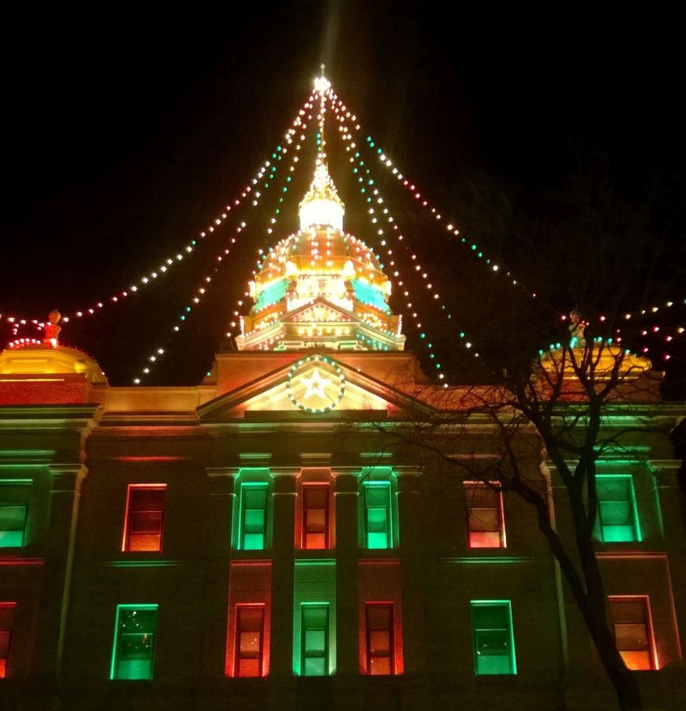 Minden celebrating 100th anniversary of Christmas lights