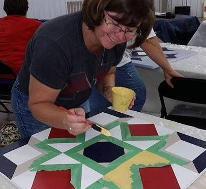 Courtesy/Barn Quilts of Dawson County Facebook page. Barn Quilts.
