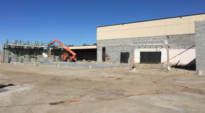 RRN/Oct. 12 construction work on the Lexington High School
