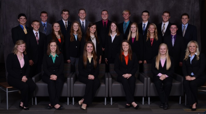 Courtsey of the Nebraska Department of Agriculture. The 2015-2016 NAYC group photo.