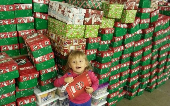 Operation Christmas Child Scottsbluff 2015