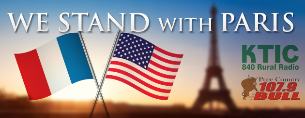 We Stand WithParis