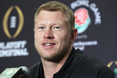 Former Husker Scott Frost (AP Photo/Nick Ut), File