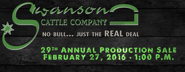 Swanson Cattle  -Cattleman Slider-ProductionSale2016