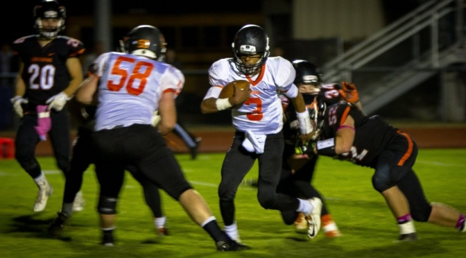 Mitchell's Drew Gilliand is an All-Western Conference football selection(Photo courtesy of Facebook).