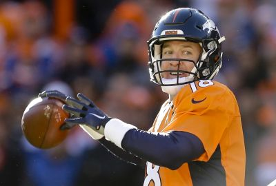 Peyton Manning leads Denver to Playoff win over the Steelers (AP Foto/Joe Mahoney)