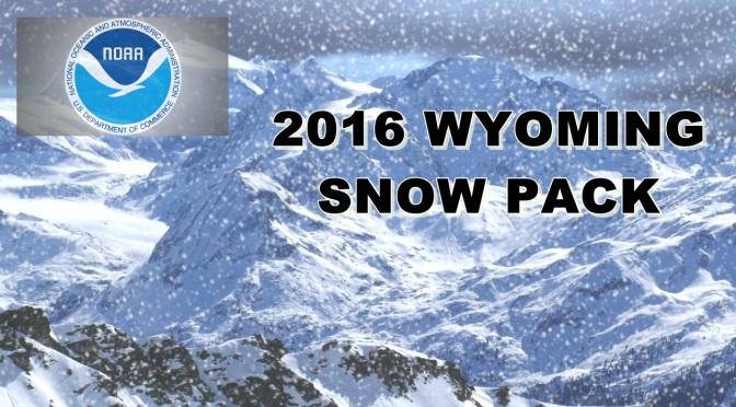 2016 Wyoming snowpack