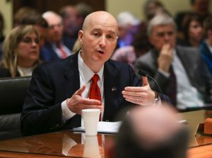 Gov. Ricketts dicusess property taxes, ag land valuations