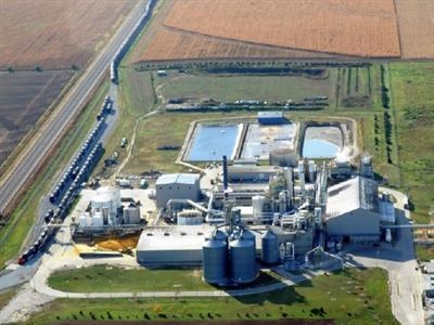 Abengoa's ethanol plant near York, Ne. (Photo courtesy of Abengoa Bioenergy)