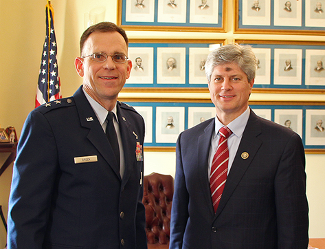 Fortenberry Meets General Green about Offutt Runway Replacement