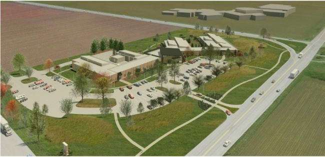 Courtesy/CCC. New Kearney Center rendering.