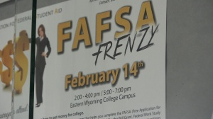 EWC in Torrington preparing for FAFSA Frenzy