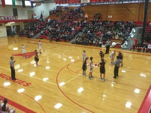 Aurora cruises past Lexington