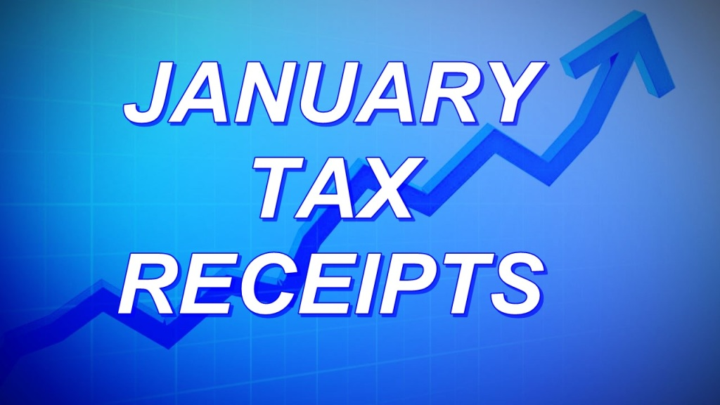 Nebraska net tax receipts higher than expected in January