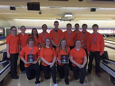 Lexington Girls & Boys Bowling Squads, Courtesy Photo
