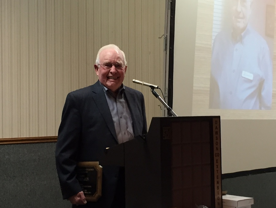 Aden Inducted Into Dawson County Cattlemen Hall of Fame