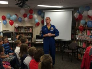 (AUDIO) Nebraska Astronaut makes landing in Kearney