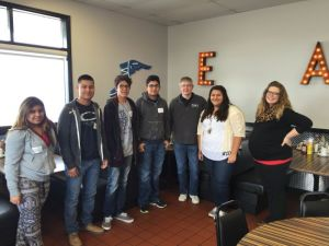 (AUDIO) Local students go behind the scenes of area businesses