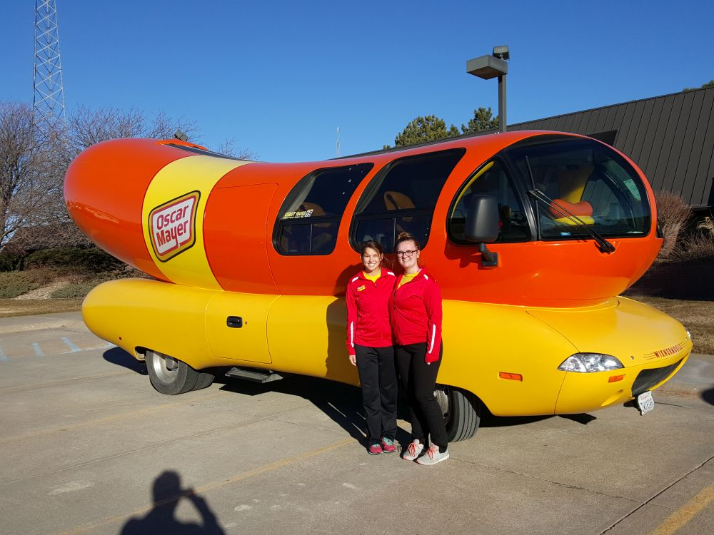 2b5T8 9599981 0 5 66 508T9999 besides Ct Redeye Cta Wienermobile Train Car 082017 Story likewise Oscar Mayer Weinermobile Visits The Middletown Public Library furthermore Oscar Mayer Wienermobile In Lexington This Afternoon as well mercials Advertising. on oscar mayer wienermobile inside story