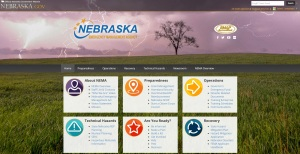 Nebraska Emergency Management Agency launches new website